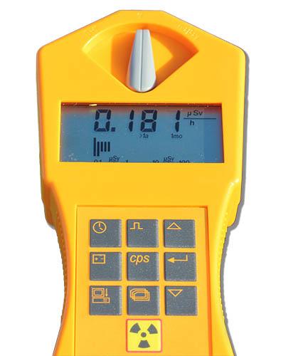 strumento per misurare le radiazioni