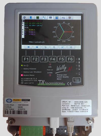 strumento per analizzare la rete elettrica